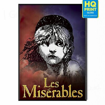 £3.99 • Buy Les Miserables Poster Wall Decor Musical Theatre | A5 A4 A3 A2 A1 |