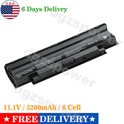 $12.98 • Buy Battery For Dell Inspiron J1KND 4T7JN 312-0234 04YRJH 9T48V 383CW W7H3N 312-0233