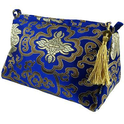 AU37.35 • Buy Womens Small Cosmetic Bag By Danielle Brocade Collection Toiletries Ladies