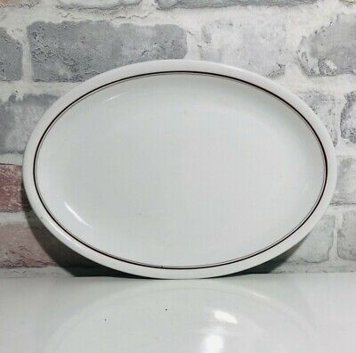 Vintage Sampson Bridgwood & Son Ltd Large Oval Ceramic Plate Serving Platter  • 12.74£