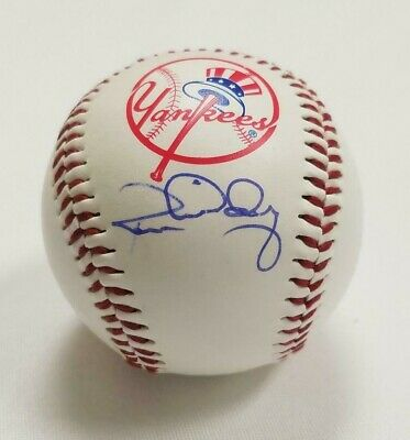 $ CDN52.83 • Buy Ron Guidry Signed New York Yankees Logo Baseball (Yankees) COA