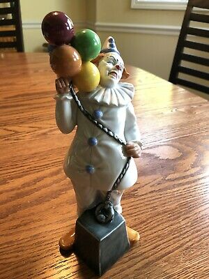 ROYAL DOULTON Balloon Clown HN2894 - Retired 1992 - Clowns-Balloon Series • 45.99£
