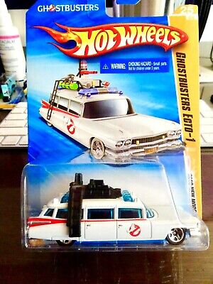 2010 Hot Wheels New Models Ghostbusters Ecto-1  • 10.85£