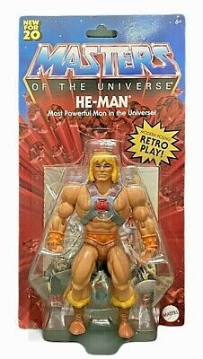 $24.99 • Buy Mattel Masters Of The Universe He-Man Retro Play