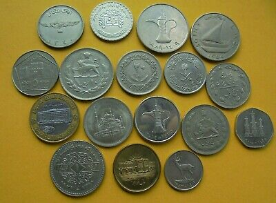 Middle East / Arabic Coins, As Shown, Nice Condition. • 14.50£