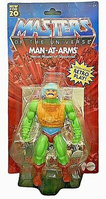 $29.99 • Buy Masters Of The Universe He-man Origins Man-at-arms Motu Retro Play Walmart