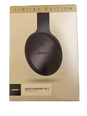 $ CDN352.27 • Buy Bose QuietComfort 35 II QC35 Limited Edition Triple Midnight Nee Open Box