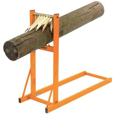 £79 • Buy DRAPER 32273 Log Wood Folding Saw Horse Chainsaw Loggers Mate Holder Metal Stand