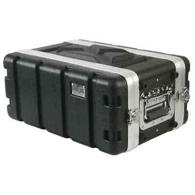 Pulse ABS-4US, 19  4U Short Flight Case For 19  Rack Equipment - Solid ABS Case • 59£