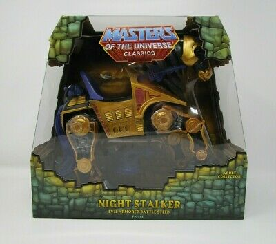 $124.99 • Buy Night Stalker Battle Steed MASTERS OF THE UNIVERSE Classics MOTU Matty MOC #2