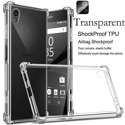 $ CDN3.91 • Buy For Sony Xperia 10 5 XA1 XZ1 L1 Shockproof Soft TPU Transparent Back Case Cover