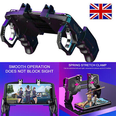 £9.01 • Buy Mobile Phone Game Controller Trigger Gamepad Console PUBG Call Of Duty COD