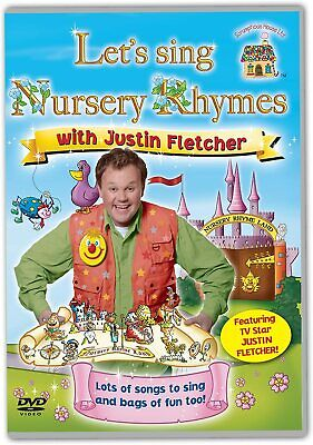 Let's Sing Nursery Rhymes With Justin Fletcher DVD * New & Sealed * • 3.47£