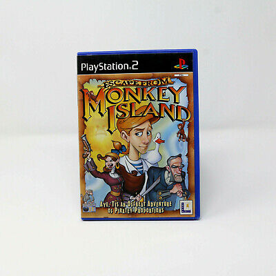 Escape From Monkey Island (Sony PlayStation 2, 2001) Complete • 6.99£