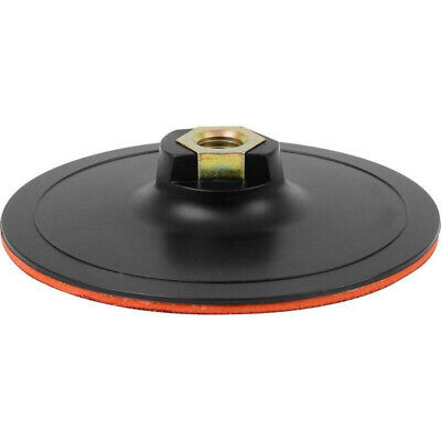 £7.14 • Buy 150mm 6  M14 Hook & Loop Rubber Disc Backing Pad - For Grinders Polishers