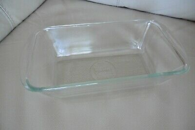 Ekco Hostess Trolley Glasbake Glass Dish Food Server Clean Condition No Lid • 9.79£
