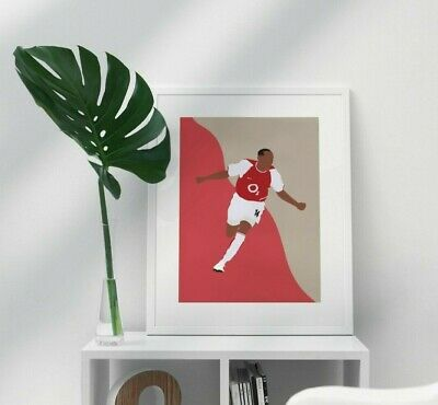£14.99 • Buy Thierry Henry Arsenal Fc Poster - A4 - Arsenal Poster Gift Print