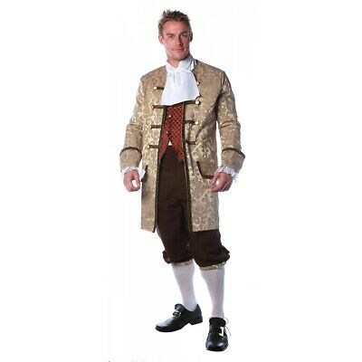 $81.84 • Buy Colonial Costume Adult 18th Century Fancy Dress