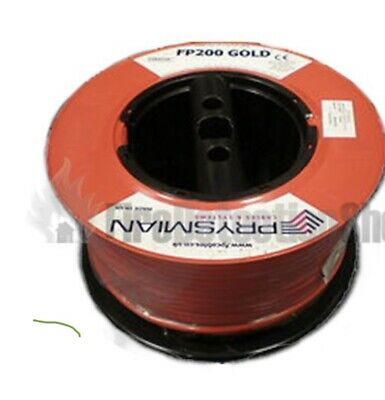 Prysmian FP200 Gold 1.5mm 2 Core+Earth PH30 Fire Rated Cable 100m Drum • 700£