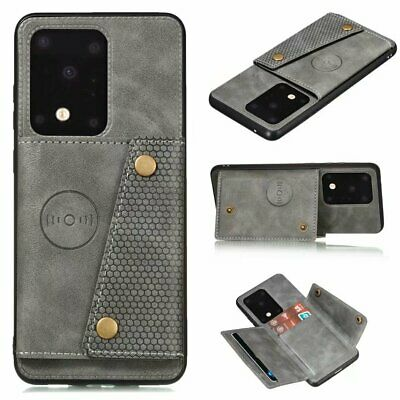 $ CDN6.50 • Buy For Samsung S20 10 Plus S9 S8 Luxury PU Leather Wallet Card Stand Cover Case