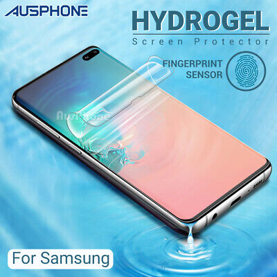 AU3.95 • Buy Hydrogel Screen Protector Samsung Galaxy S20 S10 S9 S8 Ultra Plus Note 9 20 10