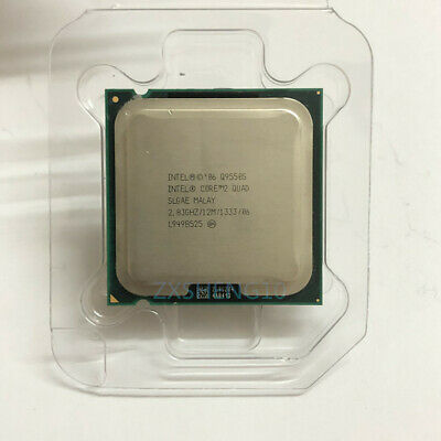 $ CDN83.46 • Buy Intel Core 2 Quad Q9550S CPU 4-Core 2.83GHz/12M/1333 SLGAE LGA775 Processor