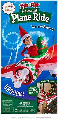 AU24.51 • Buy The Elf On The Shelf Scout Elves At Play Peppermint Plane Ride