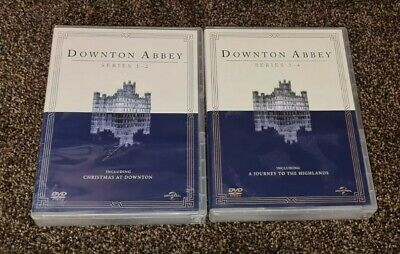 Downtown Abbey Series 1 - 2 + 3 - 4 Including Christmas Special • 12.99£