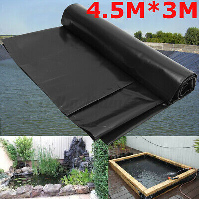 10FT Fish Pond Liner Gardens Pools HDPE Membrane Reinforced Landscaping 3x2M • 9.99£