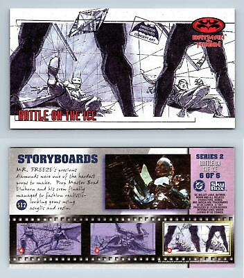 £1.99 • Buy Storyboards #S12 Series 2 Battle On The Ice 6/6 Batman & Robin Widevision Card