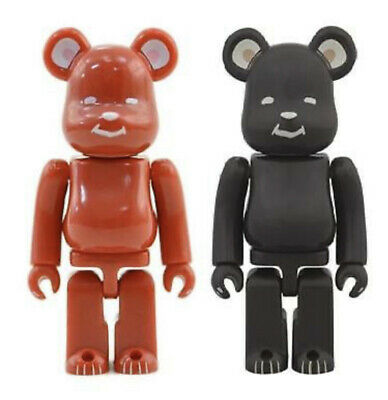 $92 • Buy Medicom BE@RBRICK Clot Red & Black POLAR BEAR Series 28 100 2pc Bearbrick Secret