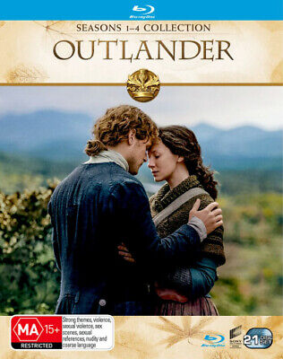 AU162.99 • Buy Outlander: Seasons 1-4 Collection (2014) [new Bluray]