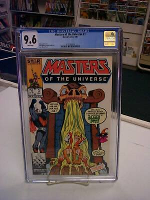 $75 • Buy MASTERS Of The UNIVERSE #3 (Marvel, 1986) CGC Graded 9.6! ~HE-MAN