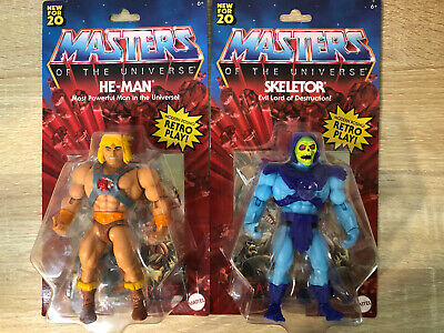 $49.50 • Buy 2020 Masters Of The Universe Origins Skeletor And He-Man Walmart Special New
