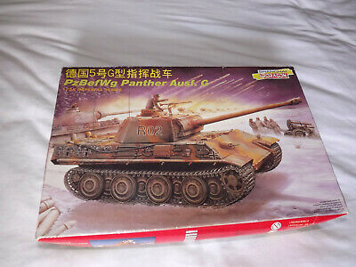 Shanghai Dragon Kit PzBefWg Panther Ausf.G. Imperial Series  9046 • 27£