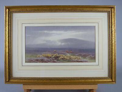 £575 • Buy Charles Edward Brittan Jnr (1870-1949), 'A View Of Dartmoor'. Signed Watercolour