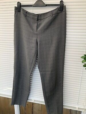 £4 • Buy George Small Gray Dogtooth Check Size 12 Tapered Trousers.
