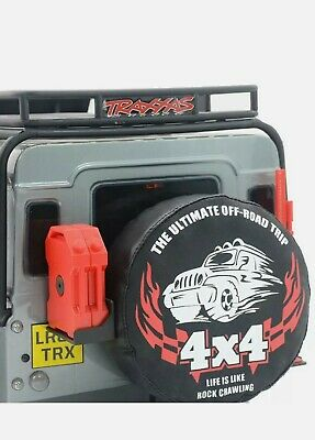 £6.50 • Buy   UK.     RC Tyre Tire Cover 1/10RC Car Accessories 4x4 Pattern TRX4 AXIAL SCX10