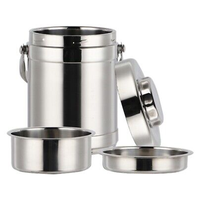 AU24.99 • Buy Stainless Steel Thermos Food Container Lunch Box Large Capacity School Adul V7Y2