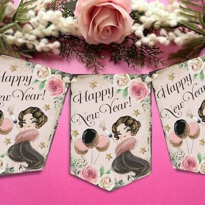£6.49 • Buy New Years Eve Bunting Garland 2022 Party Decor 1920's Banner NYE Decoration