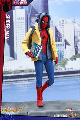 $ CDN1470.73 • Buy Spider-Man Homecoming Deluxe 1/6 Marvel MMS426 12  Figur Hot Toys