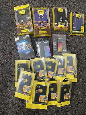 $ CDN57.23 • Buy Lot Of 18 Bulk Cases Otterbox Lifeproof Ipaky Apple Samsung  IPhone Galaxy NEW