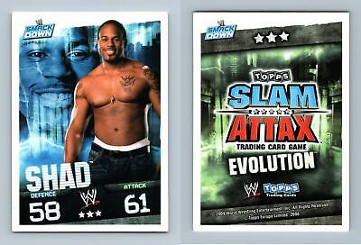 Shad - WWE Slam Attax Evolution 2009 Topps TCG Card • 0.99£