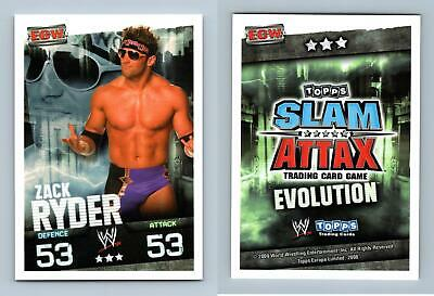 Zack Ryder - WWE Slam Attax Evolution 2009 Topps TCG Card • 0.99£