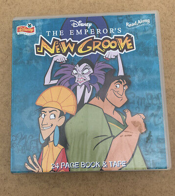 Disney The Emperors New Groove Read Along Cassette & Book • 2.99£