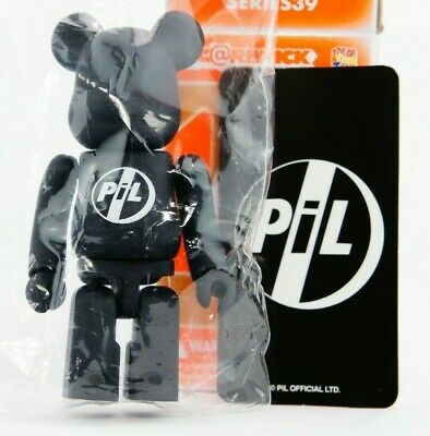 $14.39 • Buy Medicom Bearbrick Be@rbrick 100% Series 39 Artist PIL Black S39 Toy