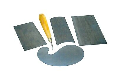 £13.65 • Buy Cabinet Scraper Set Of 4 And Curved Burnisher. W8043