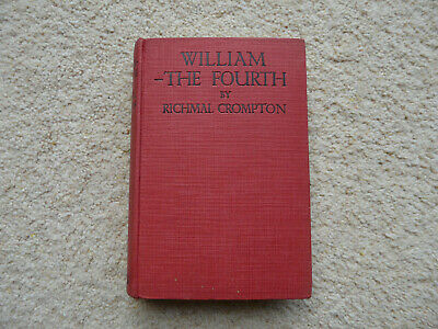 William - The Fourth By Richmal Crompton ** RARE First Edition 1924** • 50£