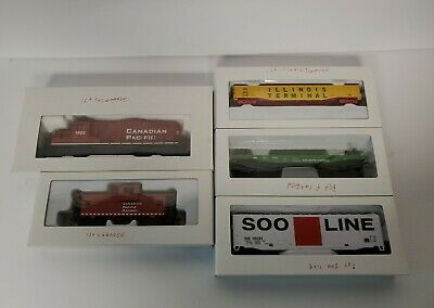$ CDN100 • Buy HO Scale Walthers Trainline Train Lot Canadian Pacific Locomotive Caboose & Cars