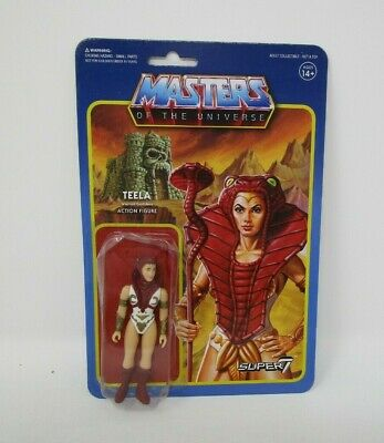 $18.99 • Buy Teela ReAction MASTERS OF THE UNIVERSE MOTU Super 7 MOC #2